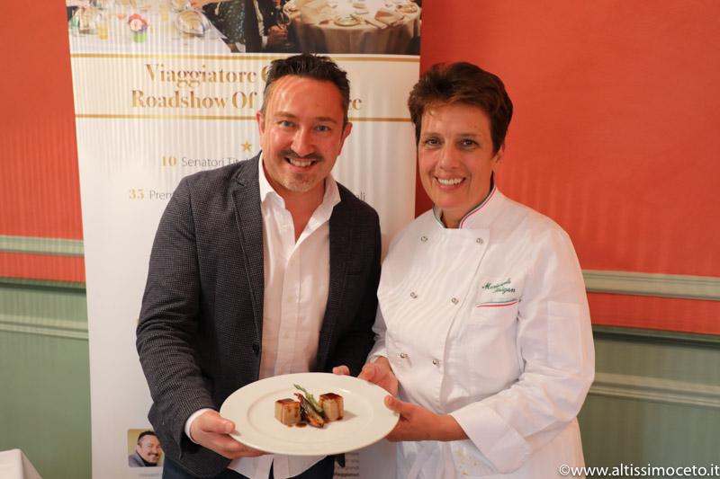 Cartoline dal 653mo Meeting VG @ Ristorante Gardenia – Caluso (TO) – Chef Mariangela Susigan
