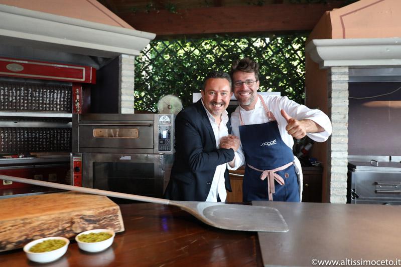 Serata Pizza Gourmet e Dom Pérignon @Da Vittorio – Brusaporto (BG) – Fam. Cerea, Guest chef Renato Bosco