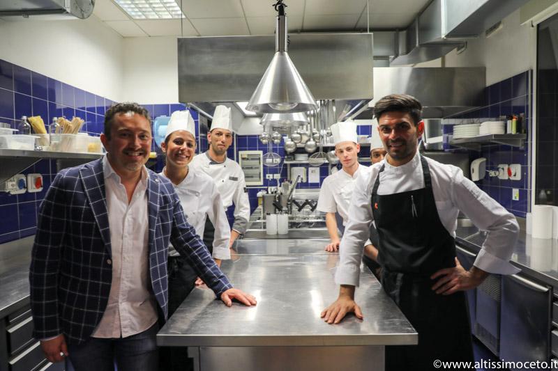 Ristorante Kitchen dello Sheraton Lake Como Hotel - Como -  Chef Francesco Soletti