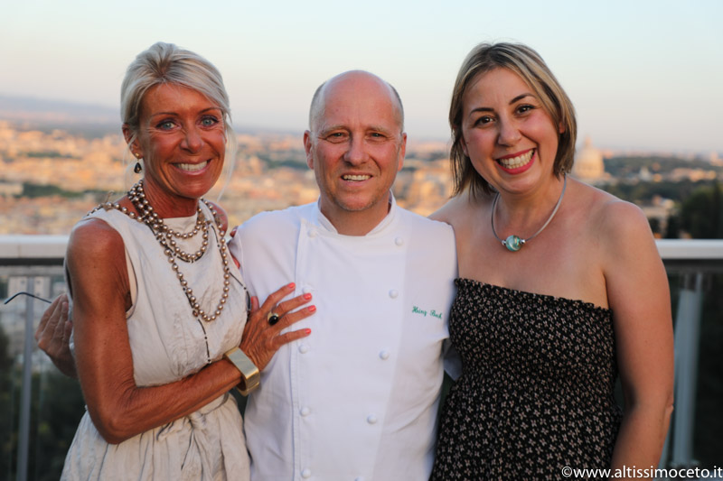 Cartoline dal 680mo Meeting VG @ La Pergola del Rome Cavalieri – Roma – Chef Heinz Beck