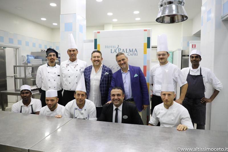 Hotel La Palma Capri e Ristorante Relais La Palma Capri - Capri - GM Giacomo Sarnataro, Chef Pasquale Cattolico