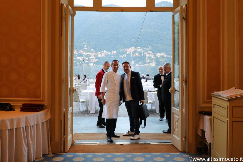 Ristorante Veranda dell'Hotel Villa D'Este - Cernobbio (CO) - Chef Michele Zambanini