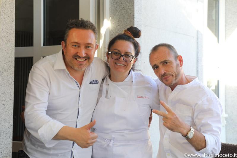 Grotto La Dispensa - Mergozzo (VB) - Patron Carlo Sacco, Chef/Patron Roberta Mirarchi