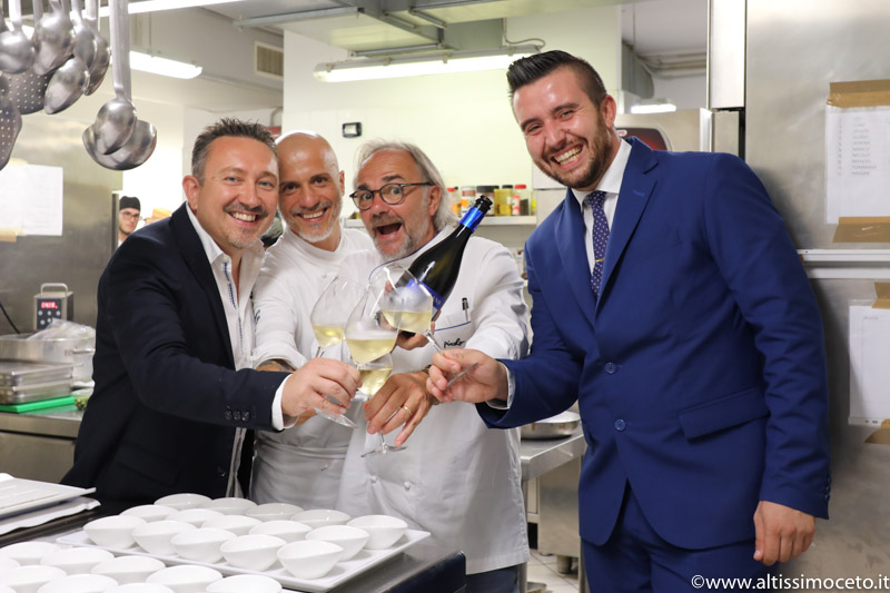 Cartoline da The Starring Nights – Cena a 4 mani al Gazebo Restaurant @GH Alassio – Alassio (SV) – Executive Chef Roberto Balgisi, Guest Chef Marco Sacco