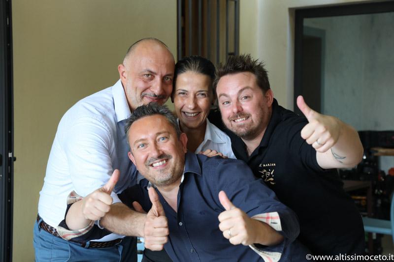 Casa di Mare - San Domenico - Forlì (FC) - Patron Luca Gardini, Chef Marcello e Gianluca Leoni