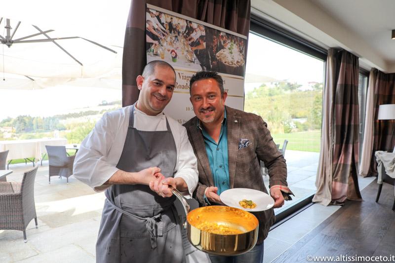 Cartoline dal 699mo Meeting VG @ Relais Villa d'Amelia – Benevello (CN) – Chef Damiano Nigro
