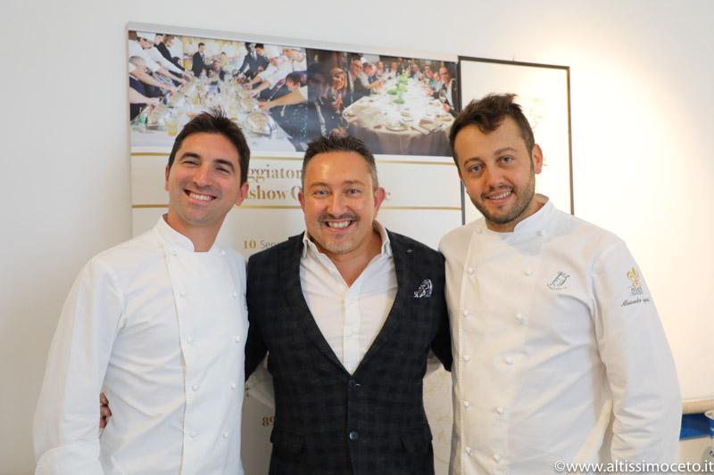 Cartoline dal 705mo meeting VG @Ristorante Il Luogo di Aimo e Nadia – Milano – Chef Alessandro Negrini e Fabio Pisani