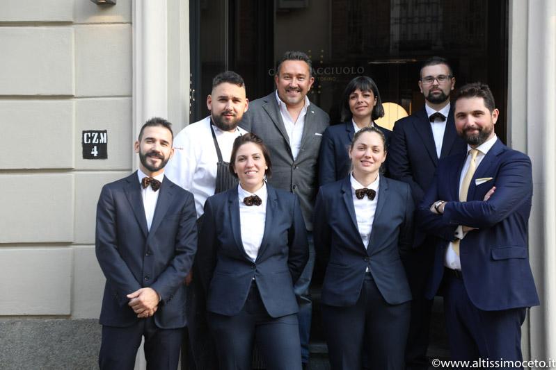 Cartoline dal 707mo meeting VG @ Cannavacciuolo Bistrot – Torino –  Chef/Patron Antonino Cannavacciuolo, Chef Nicola Somma