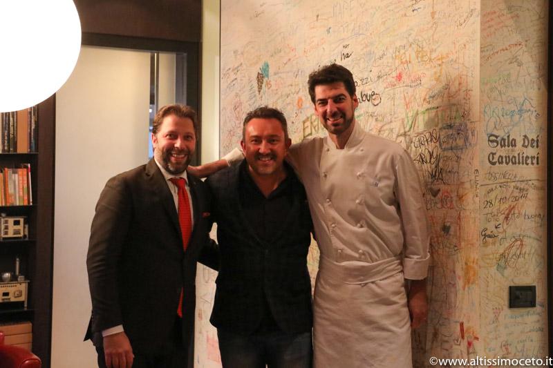 Cartoline dal 715mo Meeting VG @Le Calandre – Sarmeola di Rubano (PD) – Chef Massimiliano Alajmo, Patron Famiglia Alajmo