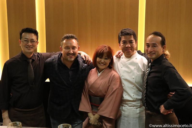 Cartoline dal 714mo Meeting VG @ Sushi B – Milano – Chef Nobuya Niimori