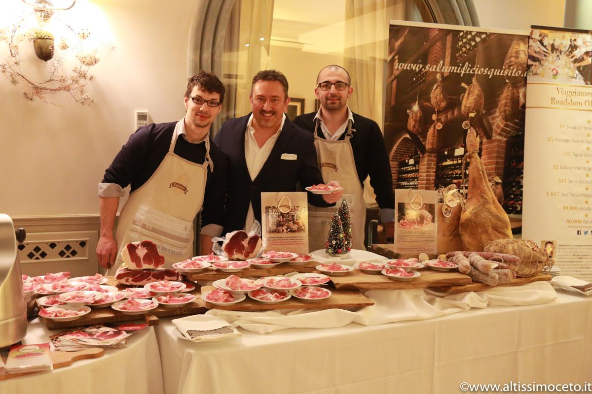 Cartoline dall'Aperitivo della Festa delle Feste 2017 Winter edition by Viaggiatore Gourmet – Villa Necchi alla Portalupa – Gambolò (PV)