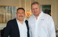 Cartoline dal 734mo Meeting @Ristorante Cheval Blanc dell'hotel Les Trois Rois - Basilea - Chef Peter Knogl