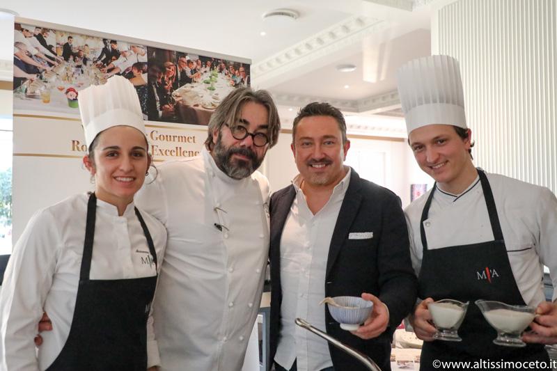 Cartoline dal 732mo Meeting VG @ Ristorante Miramonti l'Altro – Concesio (BS) – Chef Philippe Léveillé