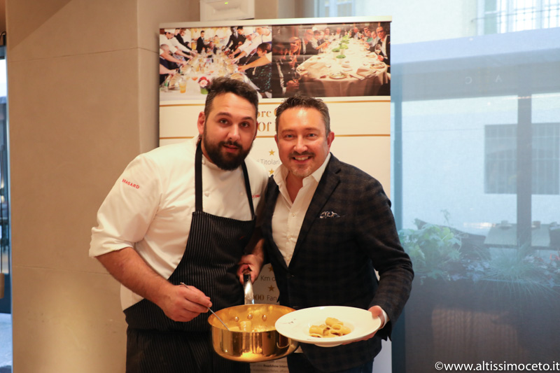 Cartoline dal 731mo meeting VG @ Cannavacciuolo Bistrot – Torino – Chef/Patron Antonino Cannavacciuolo, Chef Nicola Somma