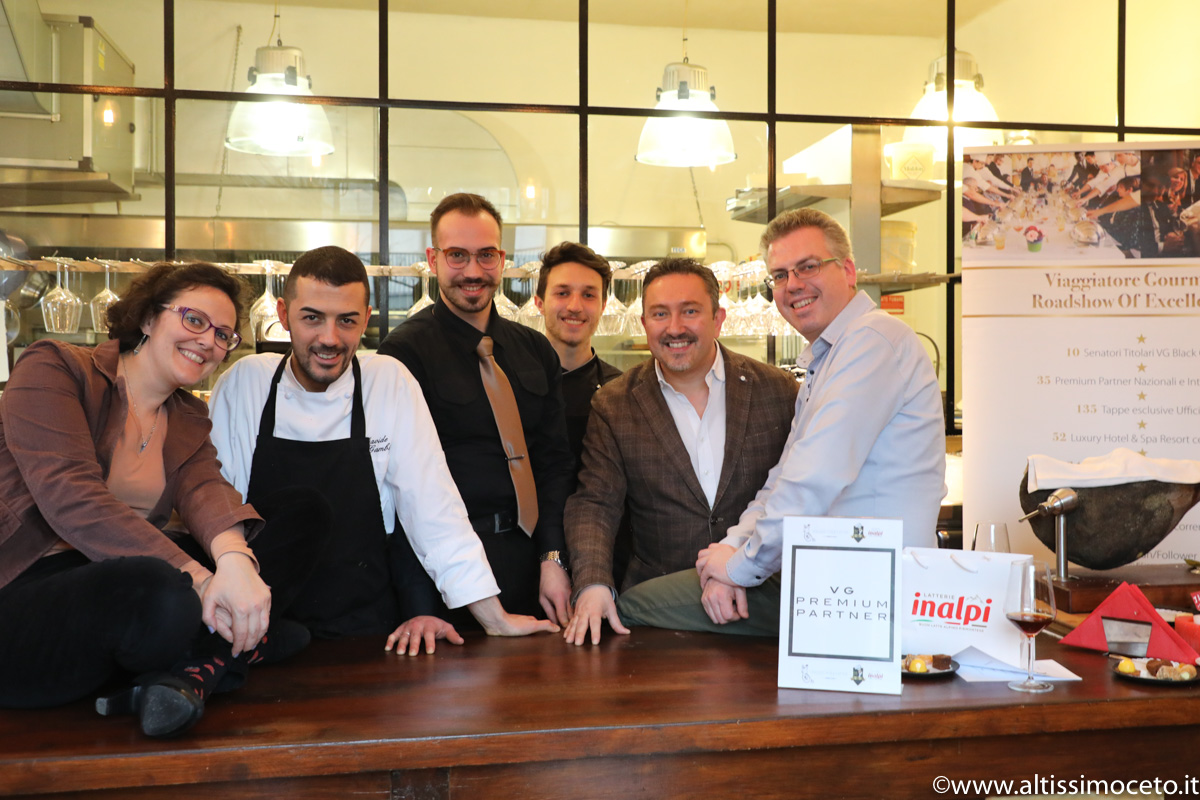 Cartoline dal 741mo Meeting VG @ Blend4 – Azzate (VA) - Patron Ivano Antonini e Luigina Gazzola, Chef Davide Gambitta