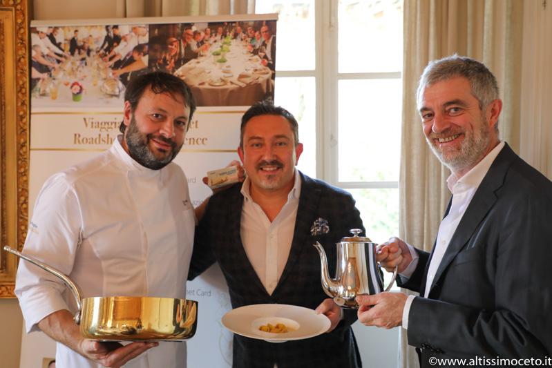 Cartoline dal 742mo Meeting VG @ Guido Ristorante – Tenuta di Fontanafredda – Serralunga d'Alba (CN) – Patron Piero Alciati, Chef/Patron Ugo Alciati