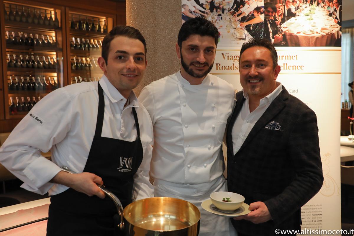 Cartoline dal 744mo Meeting VG @ VUN del Park Hyatt Hotel – Milano – Chef Andrea Aprea