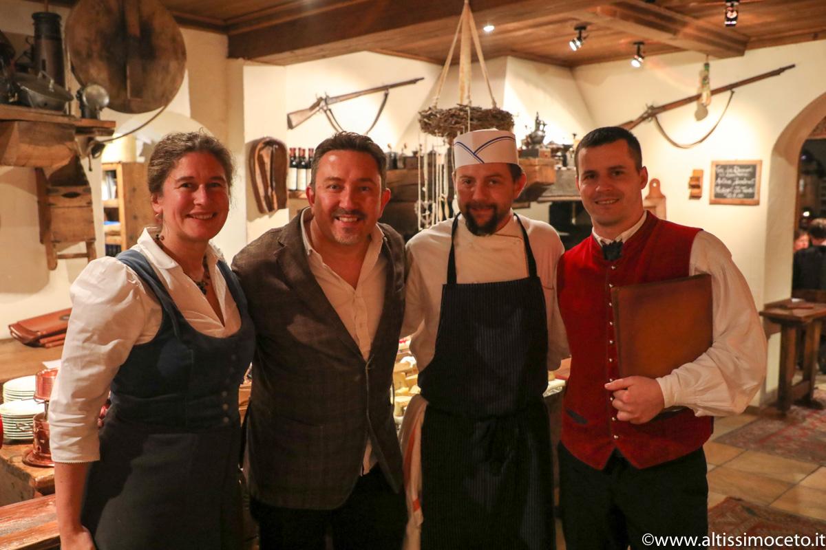 Le Petit Restaurant, Brasserie du Bon Bec e Bar à Fromage @Bellevue Hotel & SPA – Cogne (AO) – Patron Famiglia Jeantet-Roullet, Chef Fabio Iacovone