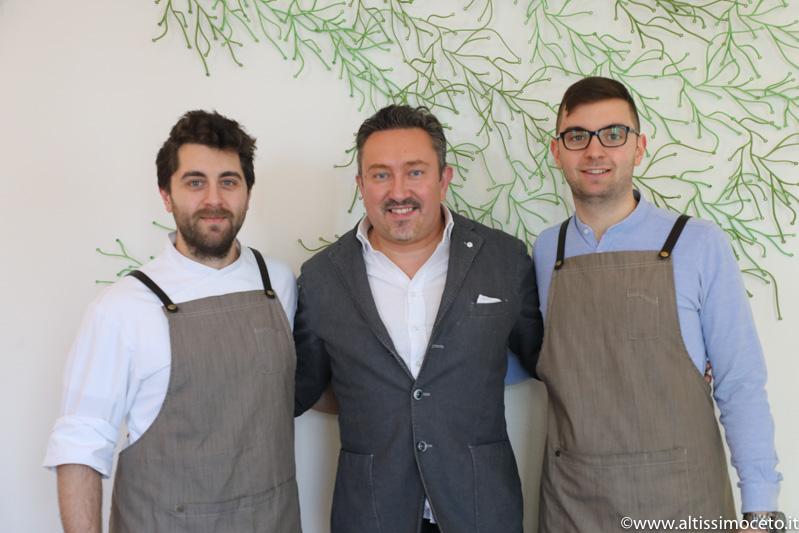 Ristorante Flora - Busto Arsizio (VA) - Patron Gabriele Escalante,  Chef/Patron Riccardo Escalante