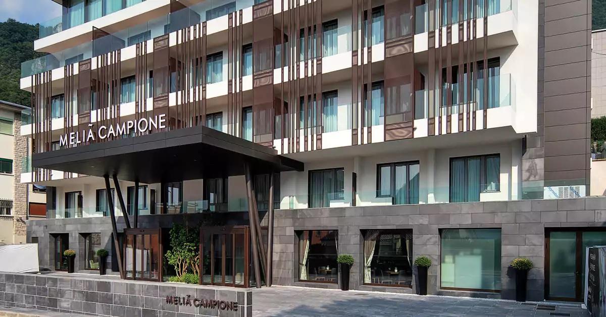 Hotel Meliá Campione - Campione d'Italia (CO) - GM Luca Barion
