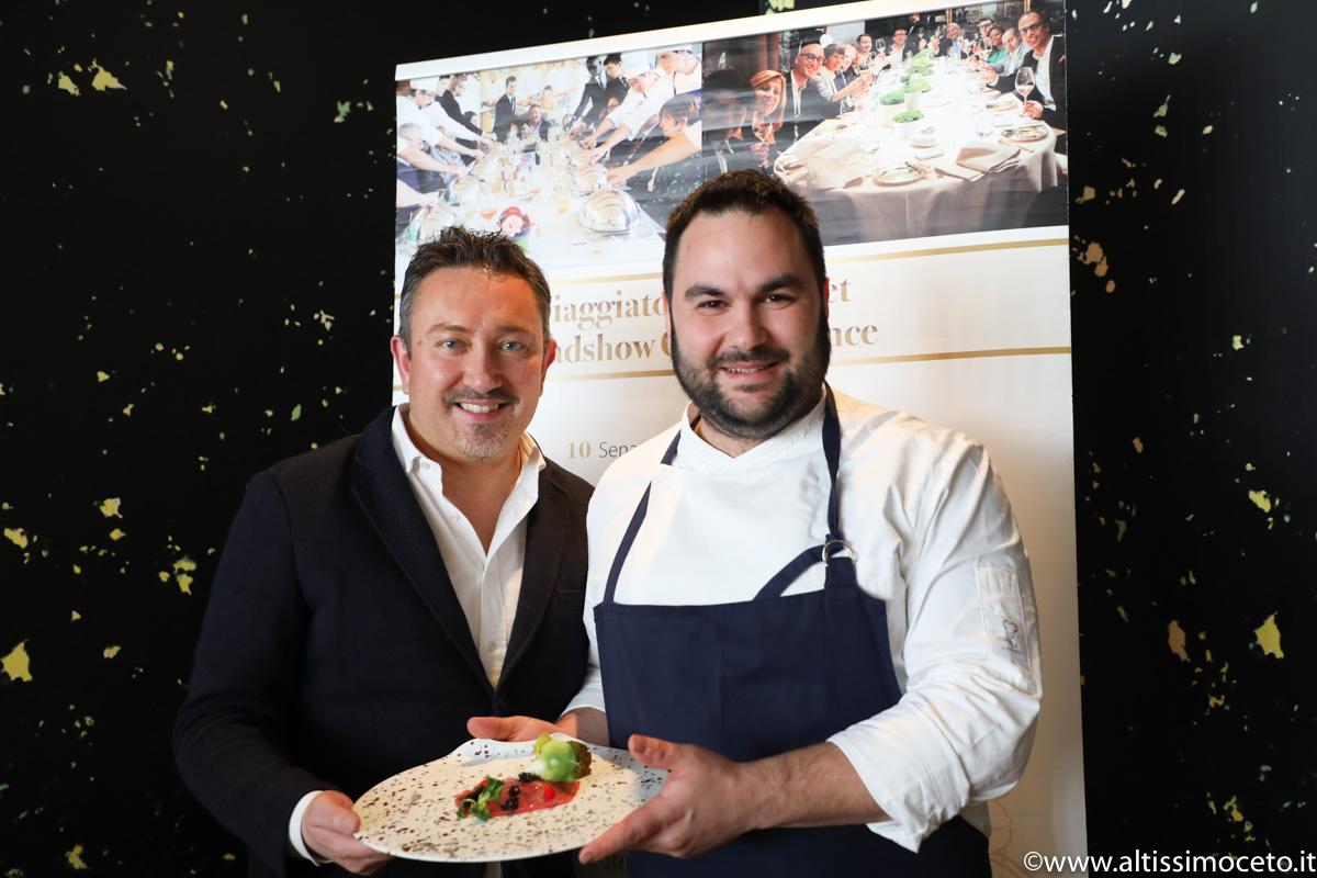Cartoline dal 743mo Meeting VG @ Spazio7 – Torino - Chef Alessandro Mecca
