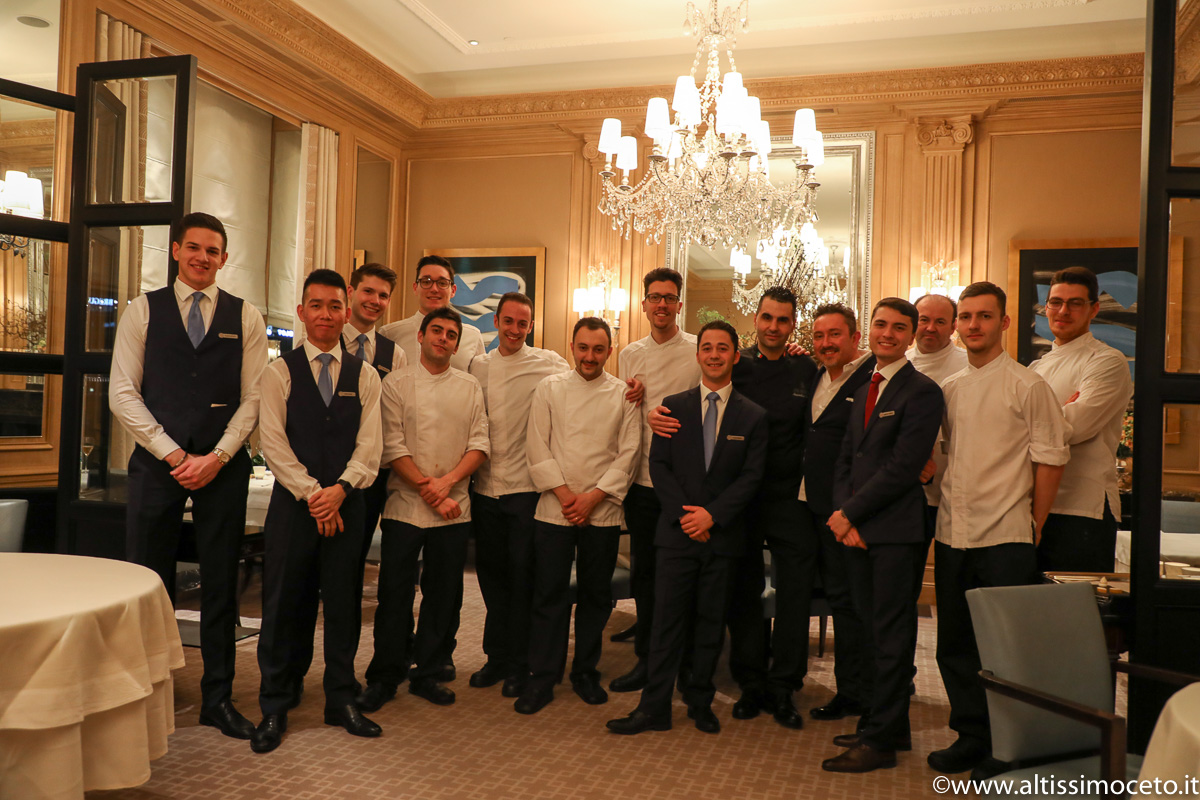 Cartoline dal 761mo Meeting VG @ Ristorante Il Lago del Four Seasons Hotel des Bergues – Ginevra (CH) – Executive chef Massimiliano Sena