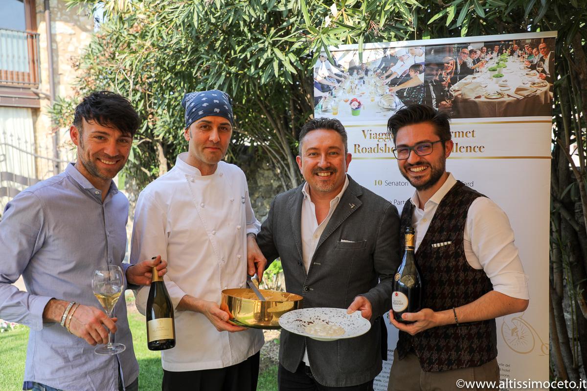 Cartoline del 774mo Meeting VG @Ristorante Barboglio De Gaioncelli – Corte Franca (BS) – Patron Andrea Costa, Chef/Patron Lorenzo Tagliabue