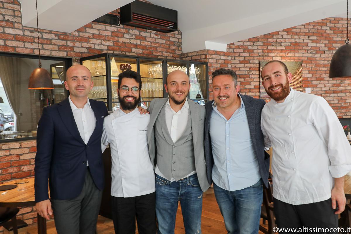 Cartoline dal 775mo Meeting VG @Trattoria Bottega - Ginevra (CH) - Patron Francesco e Ilaria Gasbarro, Chef Fernando Tommaso Forino