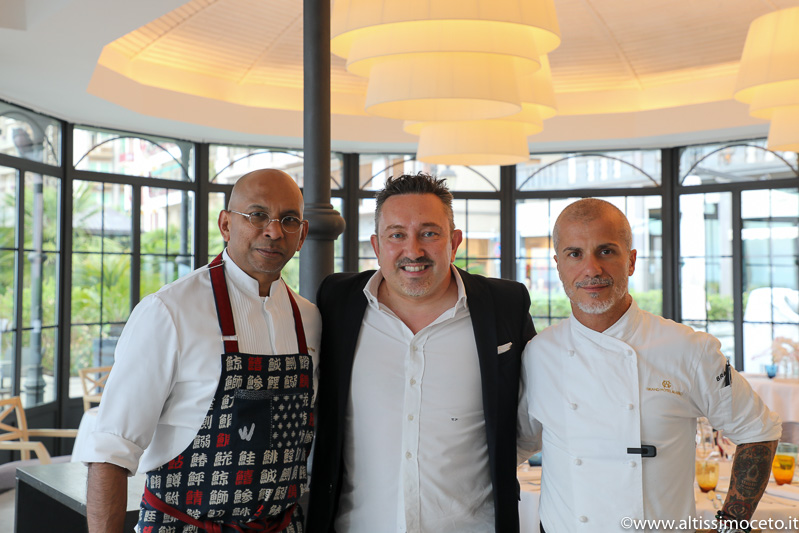 Cartoline da The Starring Nights – Cena a 4 mani al Gazebo Restaurant @GH Alassio – Alassio (SV) – Executive Chef Roberto Balgisi, Guest Chef Wicky Priyan