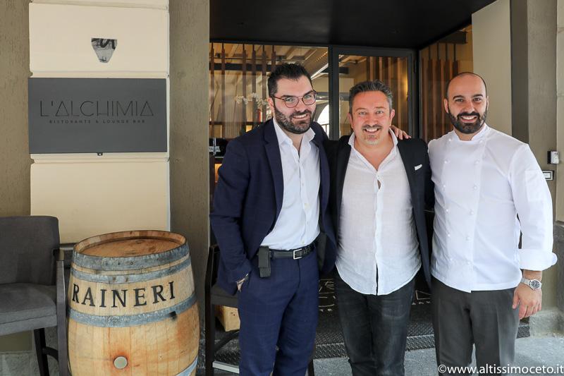 L'Alchimia Ristorante & Lounge Bar - Milano - Patron Alberto Tasinato, Chef Davide Puleio