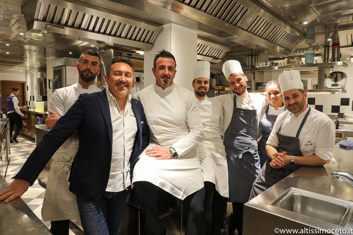 Cartoline dal 776mo Meeting VG @Ristorante Tosca - Ginevra (Svizzera) - Chef Saverio Sbaragli