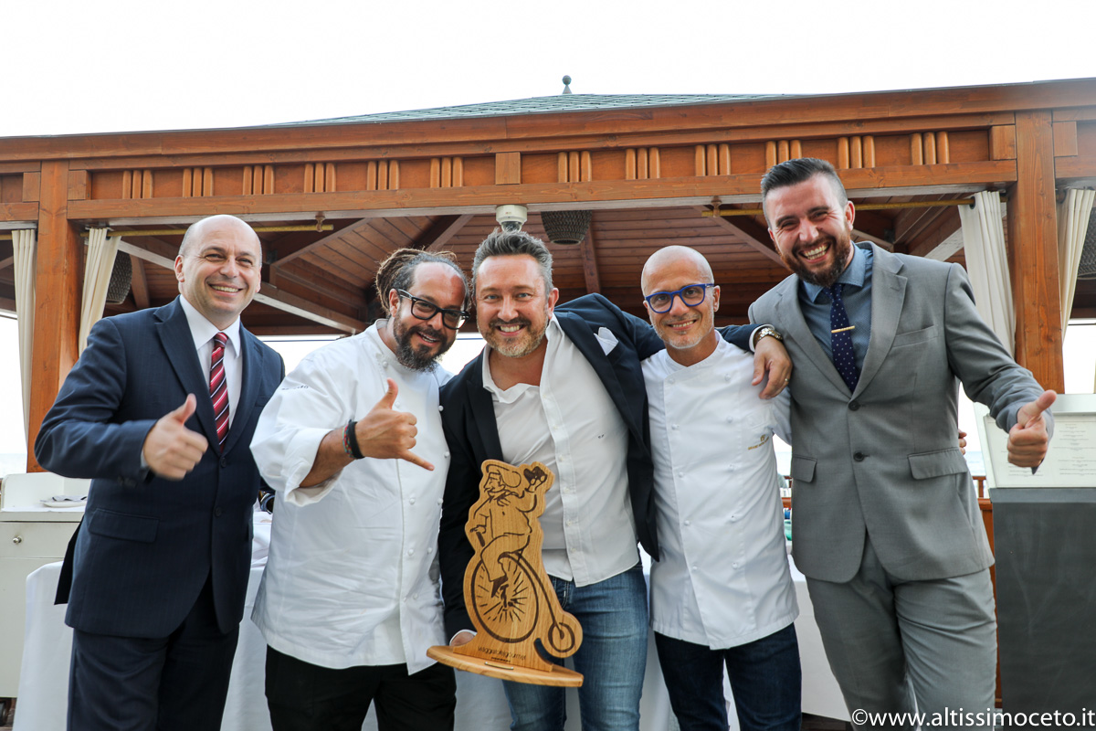 Cartoline da The Starring Nights – Cena a 4 mani al Gazebo Restaurant @GH Alassio – Alassio (SV) – Executive Chef Roberto Balgisi, Guest Chef Marcello Trentini