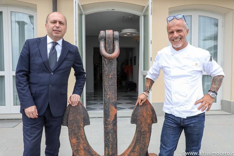 Gazebo Restaurant, GH Bistrot e Pizzeria Lentini's @Grand Hotel Alassio – Alassio (SV) – GM Davide Crema, Chef Roberto Balgisi