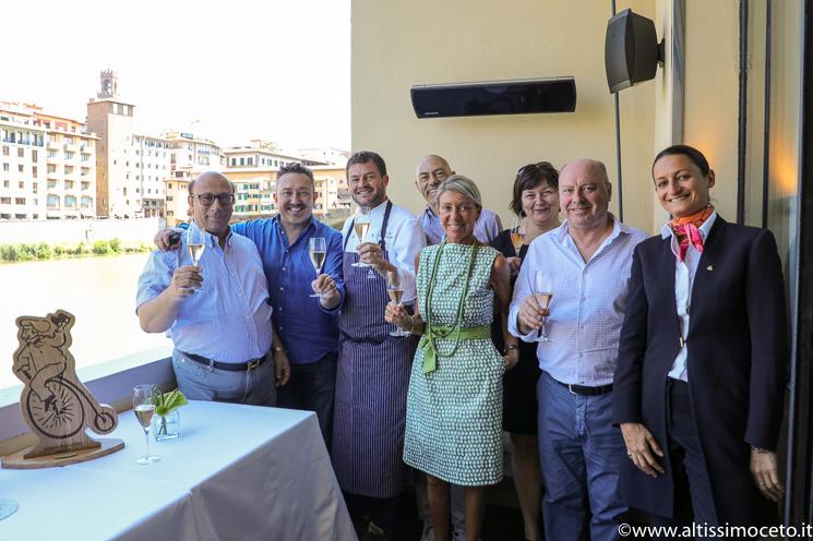 Cartoline dal 801mo Meeting VG @ Borgo San Jacopo del Lungarno Hotel – Firenze – Chef Peter Brunel