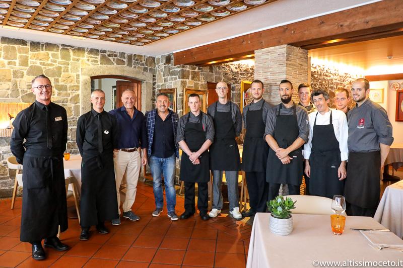 Il Fogolar dell'Hotel Là di Moret - Udine - Famiglia Marini, Chef Stefano Basello