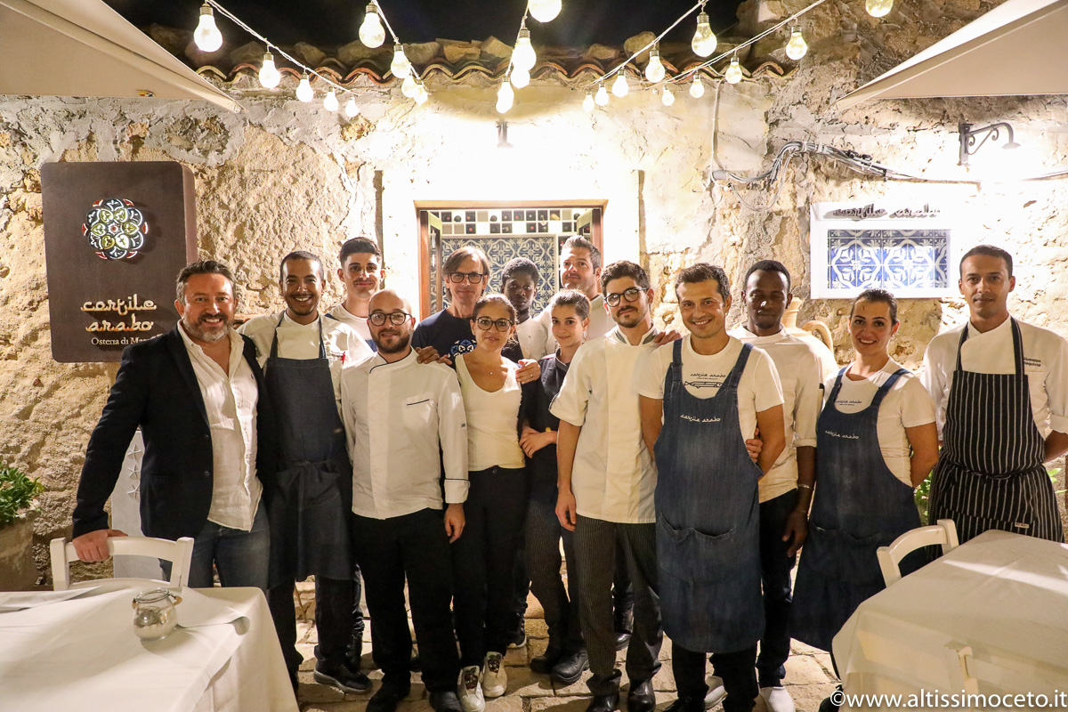 Cortile Arabo, Osteria di Mare - Marzamemi (SR) - Chef Massimo Giaquinta