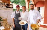Cartoline dal 821 Meeting VG @ Ristorante Nove di Villa della Pergola – Alassio (SV) – Chef Giorgio Servetto