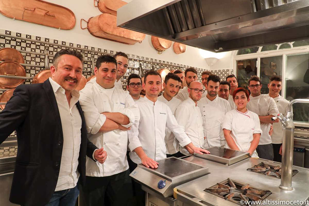 Ristorante La Sponda dell'Hotel Le Sirenuse – Positano (SA) – Chef Gennaro Russo