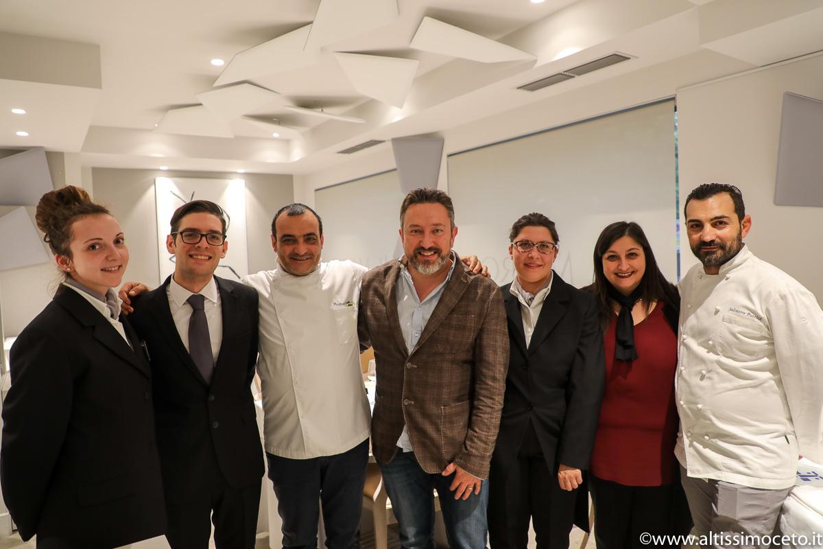 Ristorante Il Moro - Monza - Patron Salvatore, Vincenzo e Antonella Butticè, Chef Salvatore Butticè