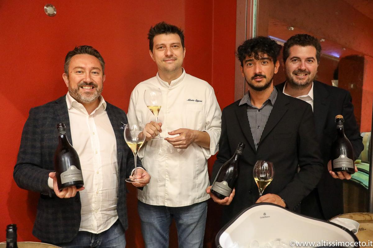Cartoline dal 833 Meeting VG @ Cantina Ca' Del Bosco – Erbusco (BS) – Patron Maurizio Zanella, Chef dell'evento Alberto Gipponi
