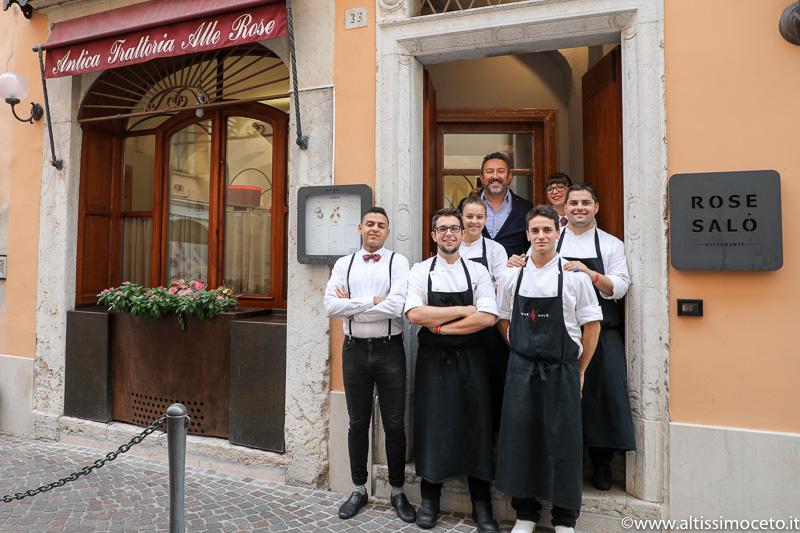 Antica Trattoria Alle Rose - Salò (BS) - Chef Marco Cozza e Andrea De Carli
