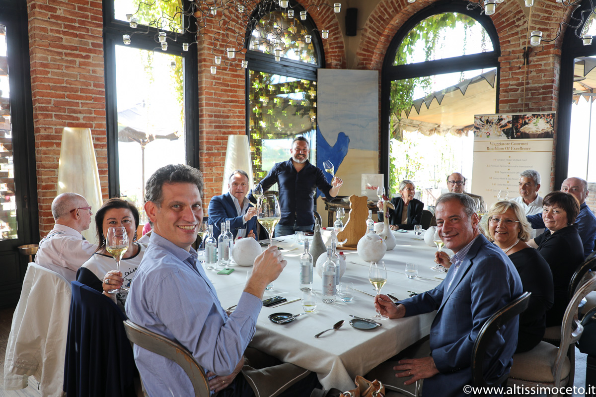 Cartoline dal 835mo Meeting VG @ Ristorante La Gallina di Villa Sparina Resort – Gavi (AL) – Famiglia Moccagatta, Chef Matteo Monfrinotti