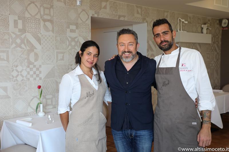 Ristorante Modì - Torregrotta (ME) - Patron Giuseppe Geraci e Alessandra Quattrocchi, Chef Giuseppe Geraci