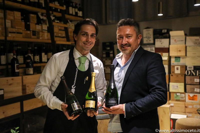 Ristorante Al Carroponte - Bergamo - Patron Oscar Mazzoleni e Silvia Mazzoni, Chef Fabio Lanceni e Fabio Garlini