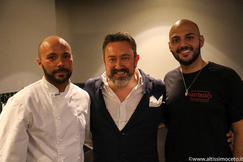 Ristorante Pantaleo - Roma - Patron Romano Rimoldi eDomenico Iozzi, Chef Marzio Troiano