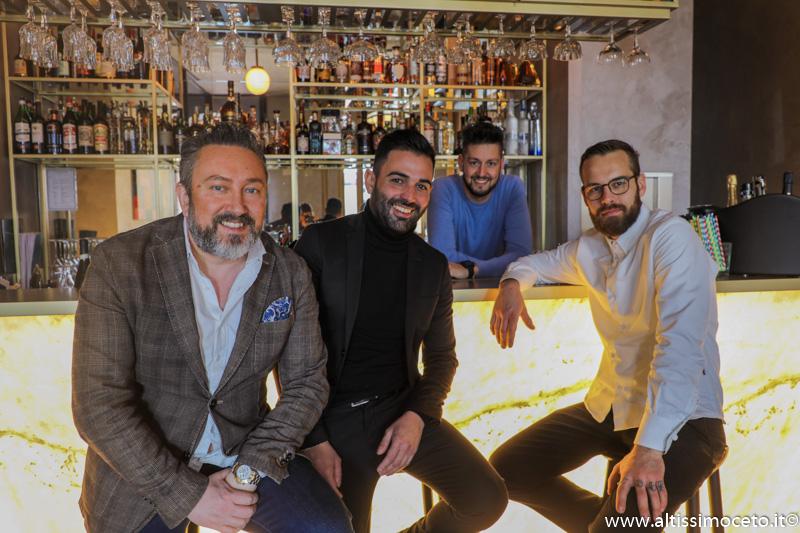 Al Maló Cucina e Miscelazione - Rovato (BS) - Patron Alberto Bergomi, Patron/Barman Lodovico Calabria, Patron/chef Mauro Zacchetti