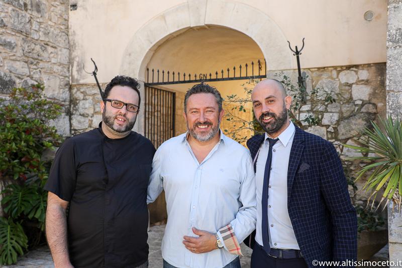 Hotel Eremo della Giubiliana e Ristorante Don Eusebio – Ragusa – General Manager Angelo Di Fede, Chef Sebastiano Sallemi