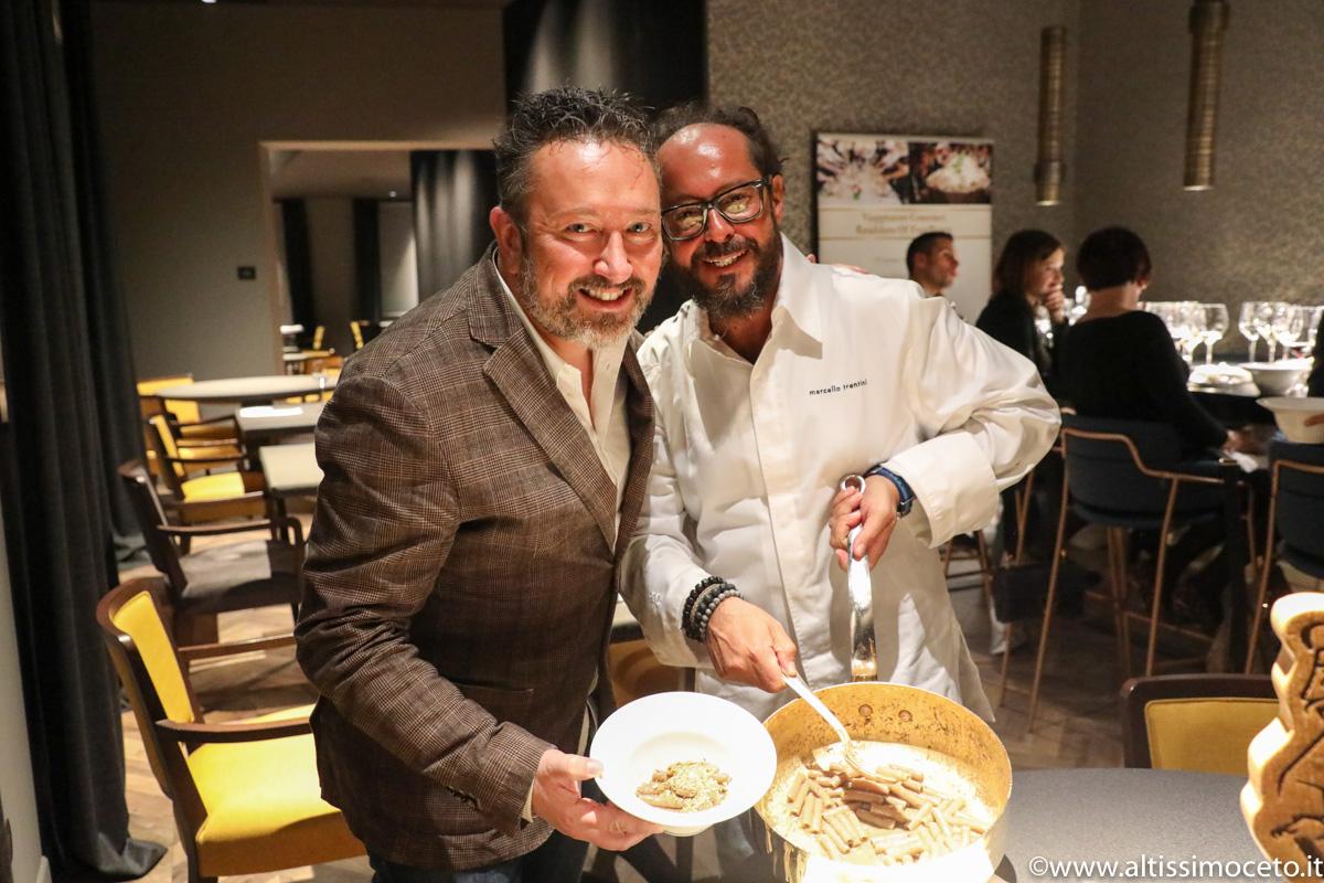 Cartoline dal 842mo Meeting VG @ Magorabin - Torino - Chef/Patron Marcello Trentini