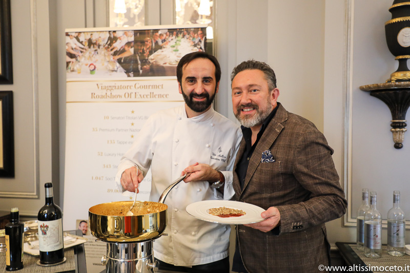 Cartoline dal 853mo Meeting VG @ Il Palagio del Four Seasons Hotel Firenze – Chef Vito Mollica