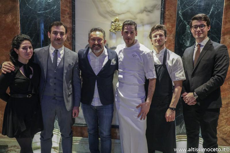 Ristorante Orlando Sapori di Sicilia - Roma - Patron Paolo Pistone,Chef Pierpaolo Caruso